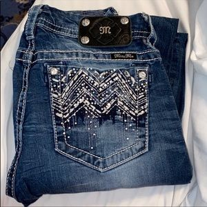 Size 30 Buckle Miss Me Jeans